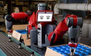 Automatização e robôs.